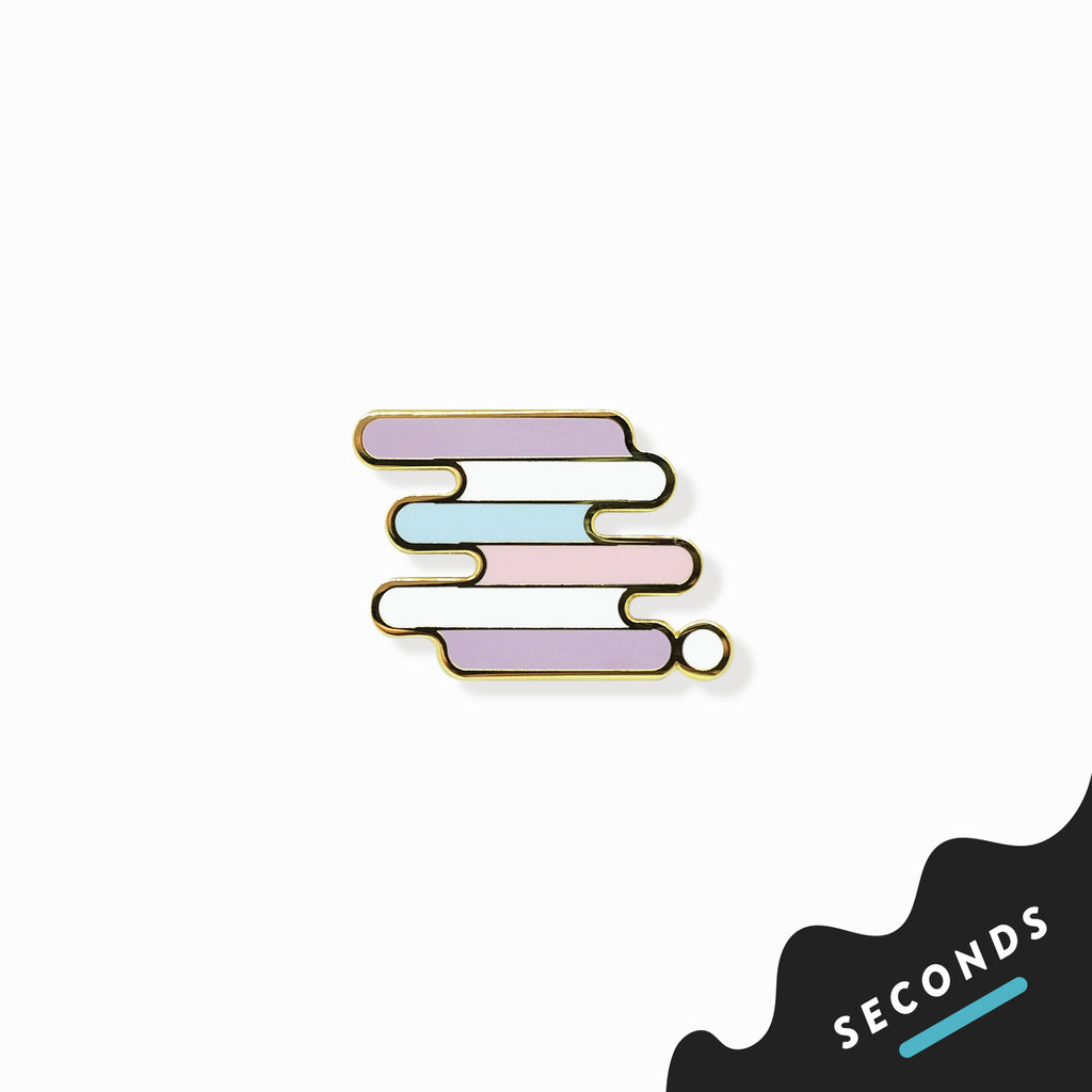 Seconds Sale - Intersex Pride Pin