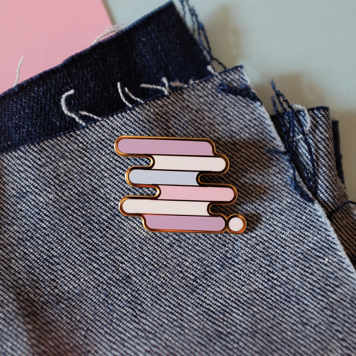 Intersex Pride Pin