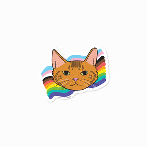 Jade Rainbow Sticker