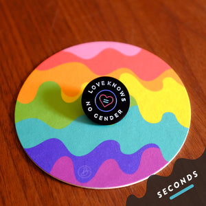 Seconds Sale - Love Knows No Gender Pin