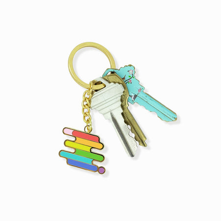 Seconds Sale - LGBTQ+ Pride Keychain