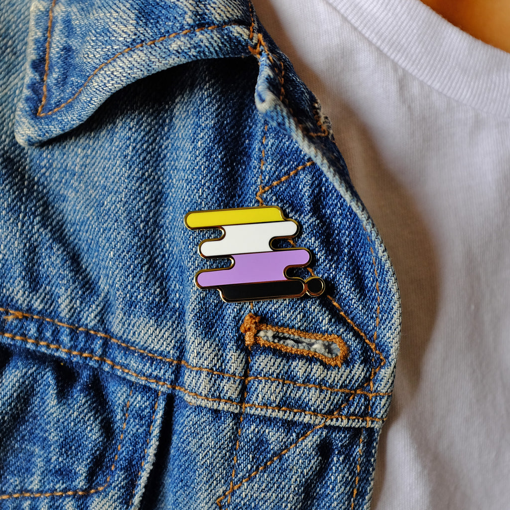 Non-Binary Pride Pin
