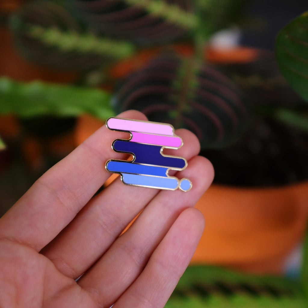 Omnisexual Pride Pin
