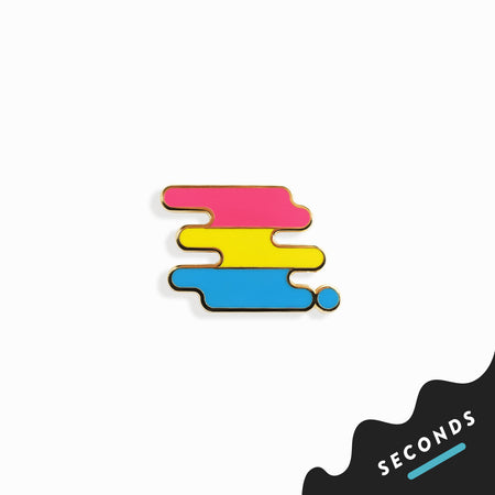 Seconds Sale - Pansexual Pride Pin