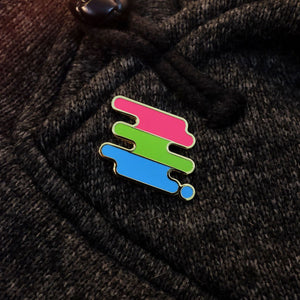 Polysexual Pride Pin