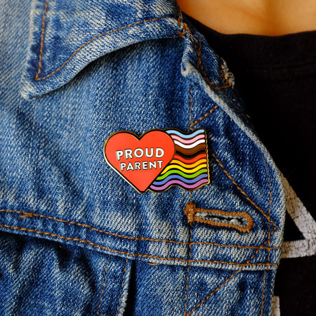 Proud Parent Pin