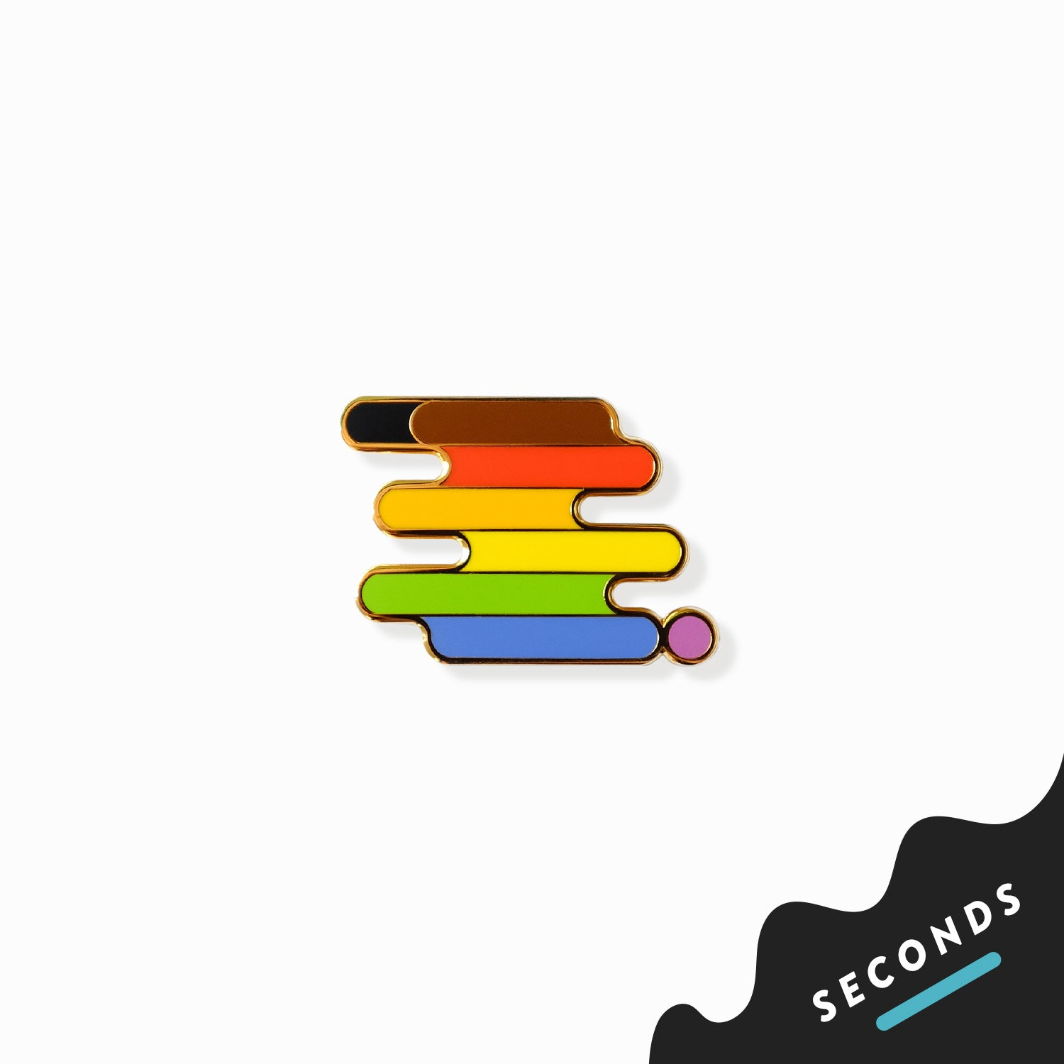 Seconds Sale - QPOC Pride Pin