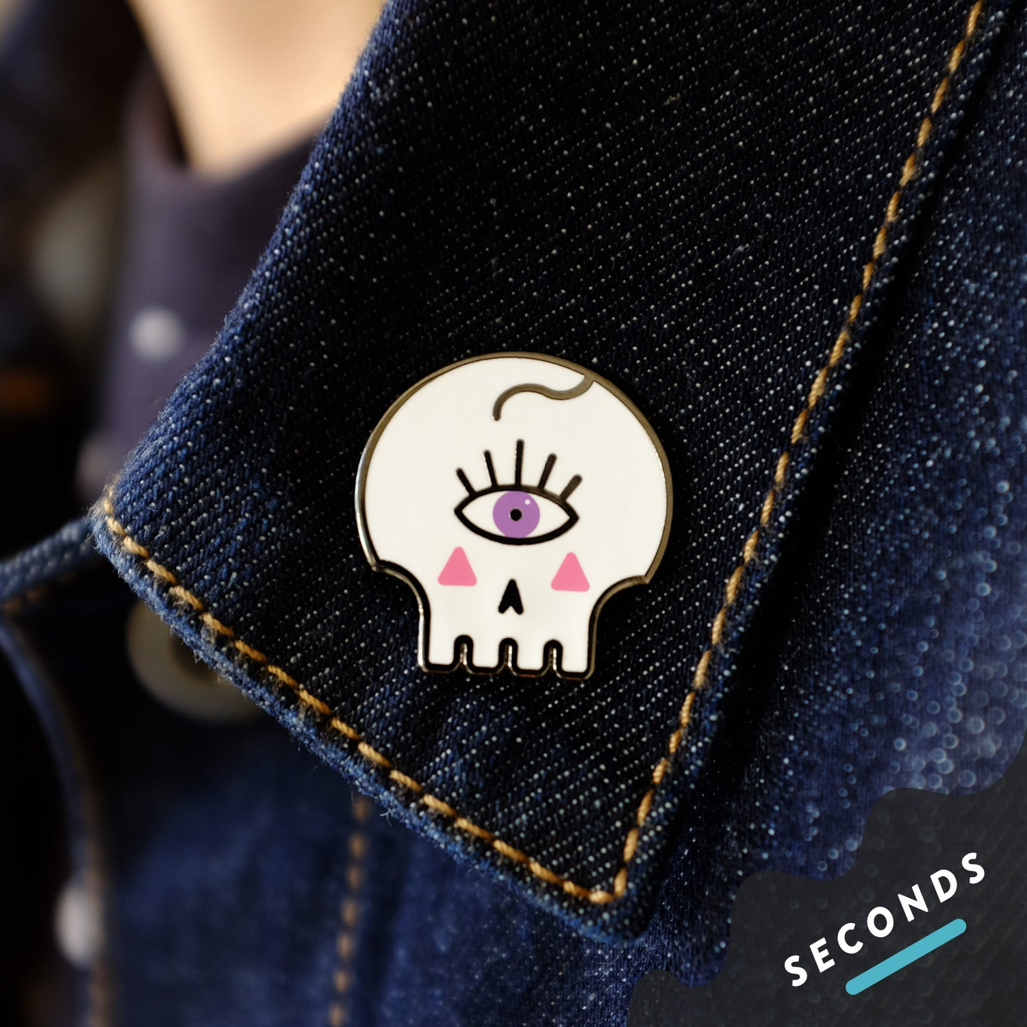 Seconds Sale - Queer & Spooky Pin