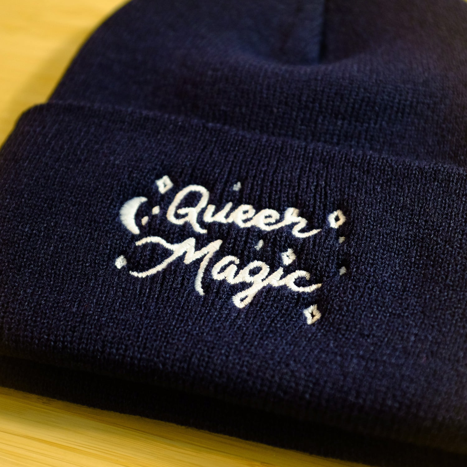 Queer Magic Cuffed Beanie