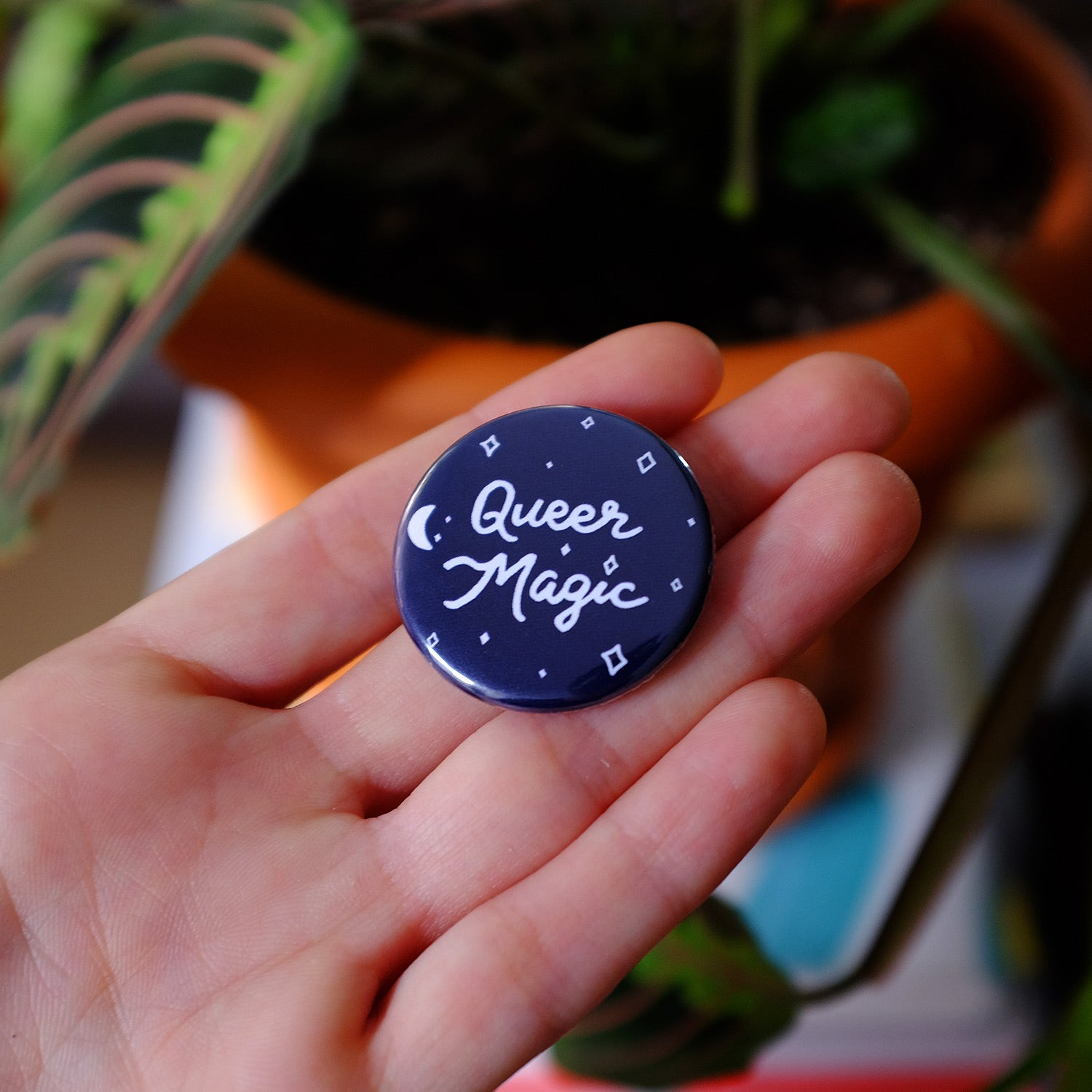 Queer Magic Button