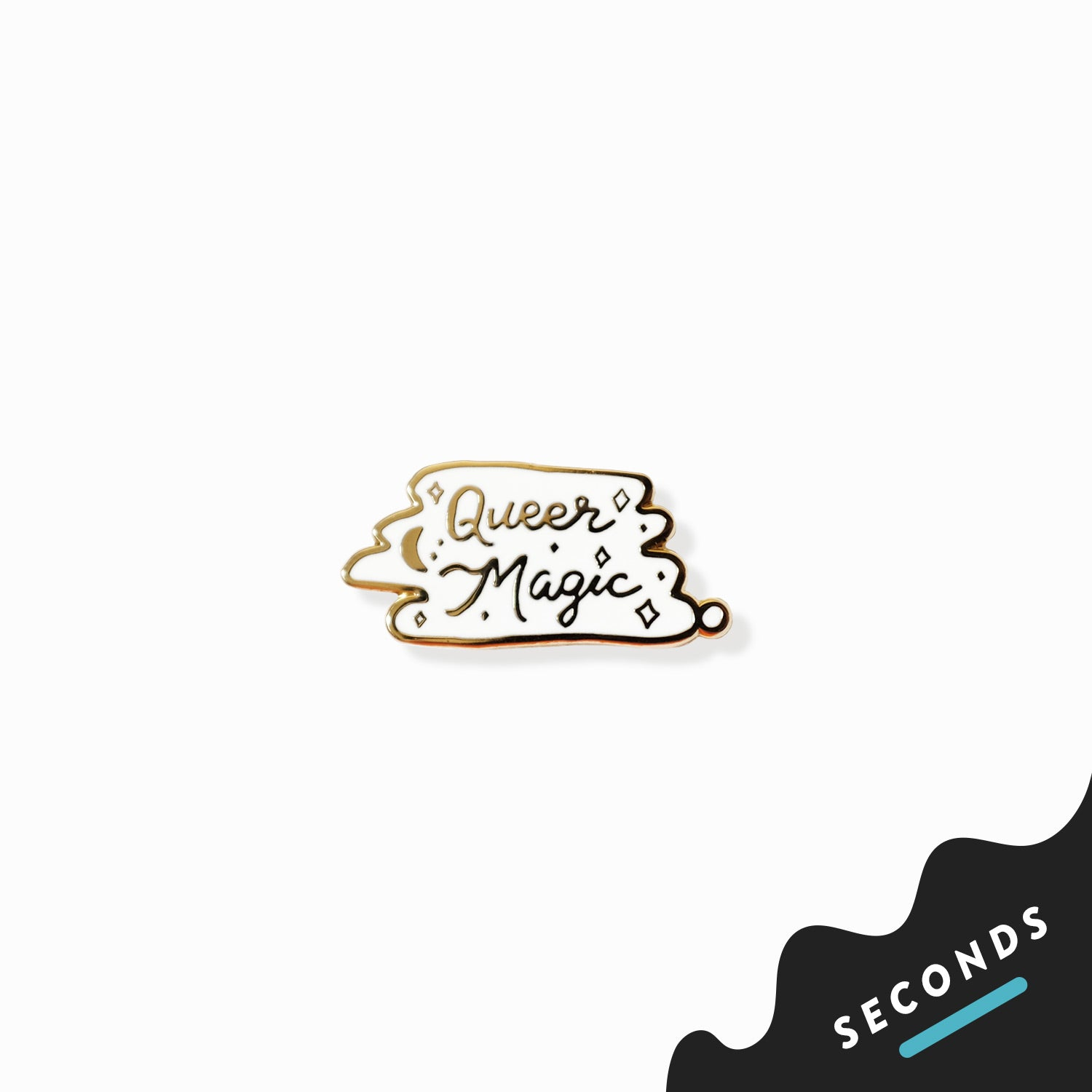 Seconds Sale - Queer Magic Pin