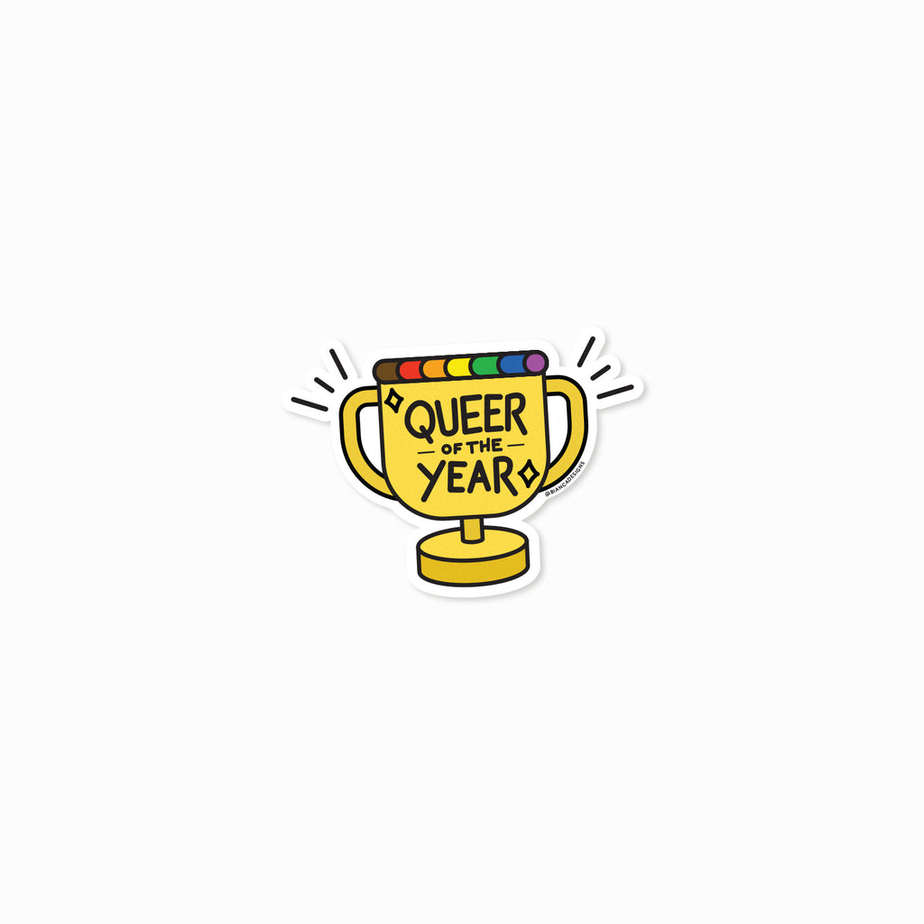 Queer of the Year Sticker