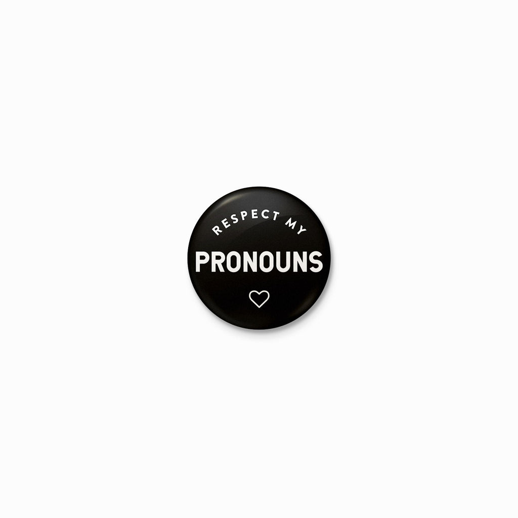 Respect My Pronouns Button
