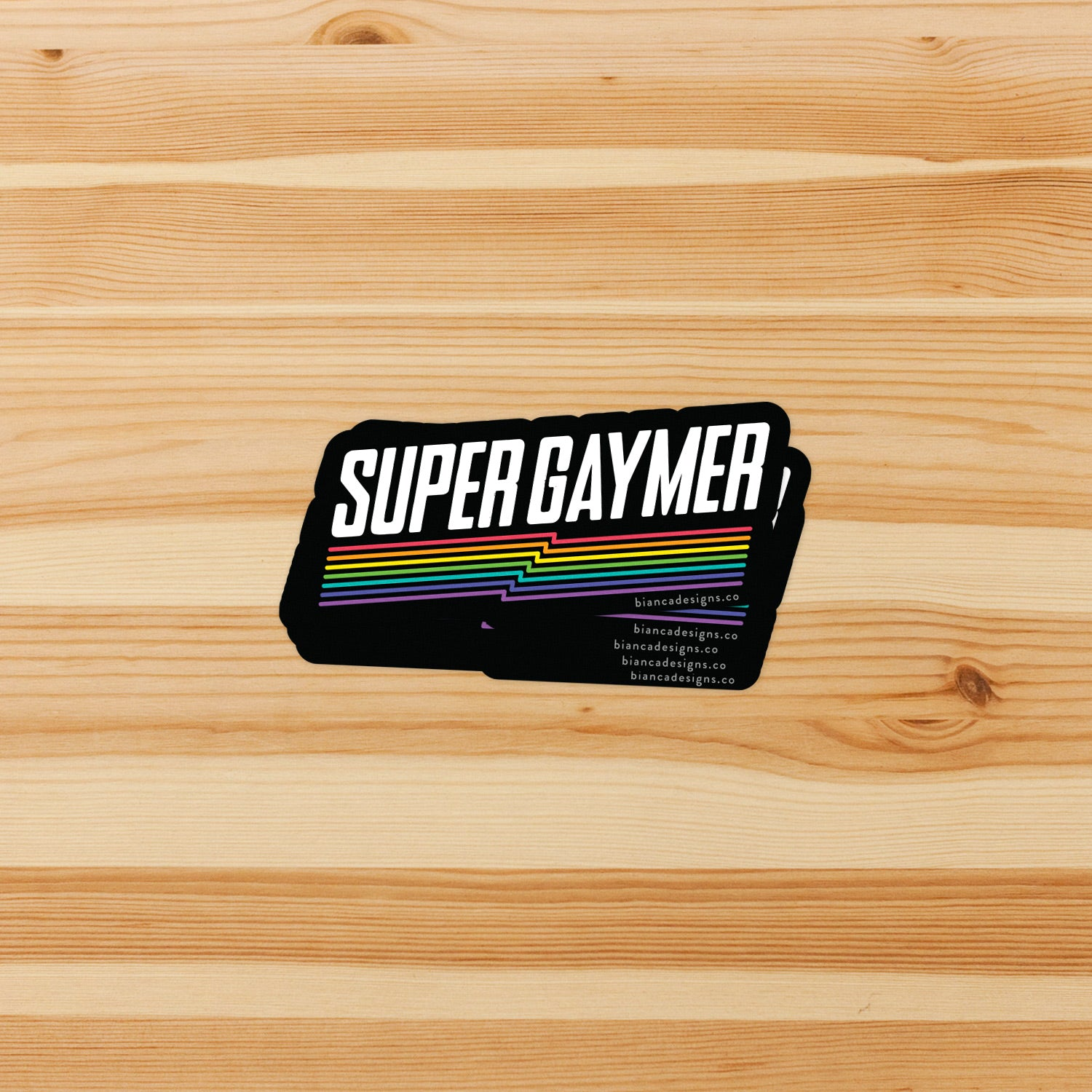 Super Gaymer Sticker