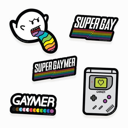 Super Gaymer Sticker Pack