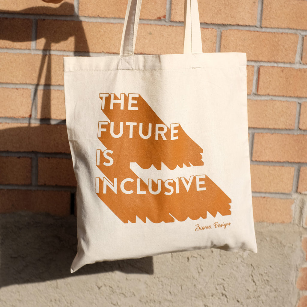 The Future Is Inclusive Natural Tote Bag