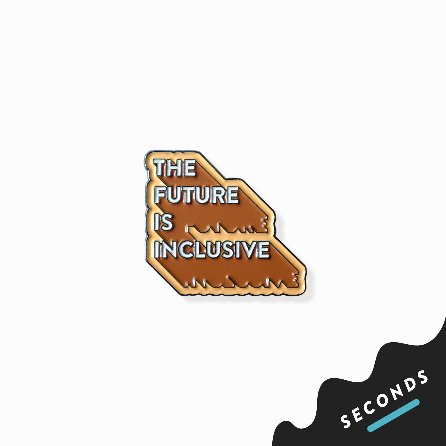 Seconds Sale - The Future Is Inclusive Pin