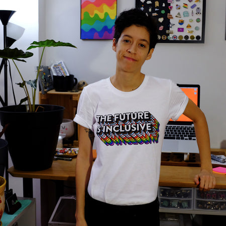 The Future Is Inclusive Rainbow Unisex T-Shirt