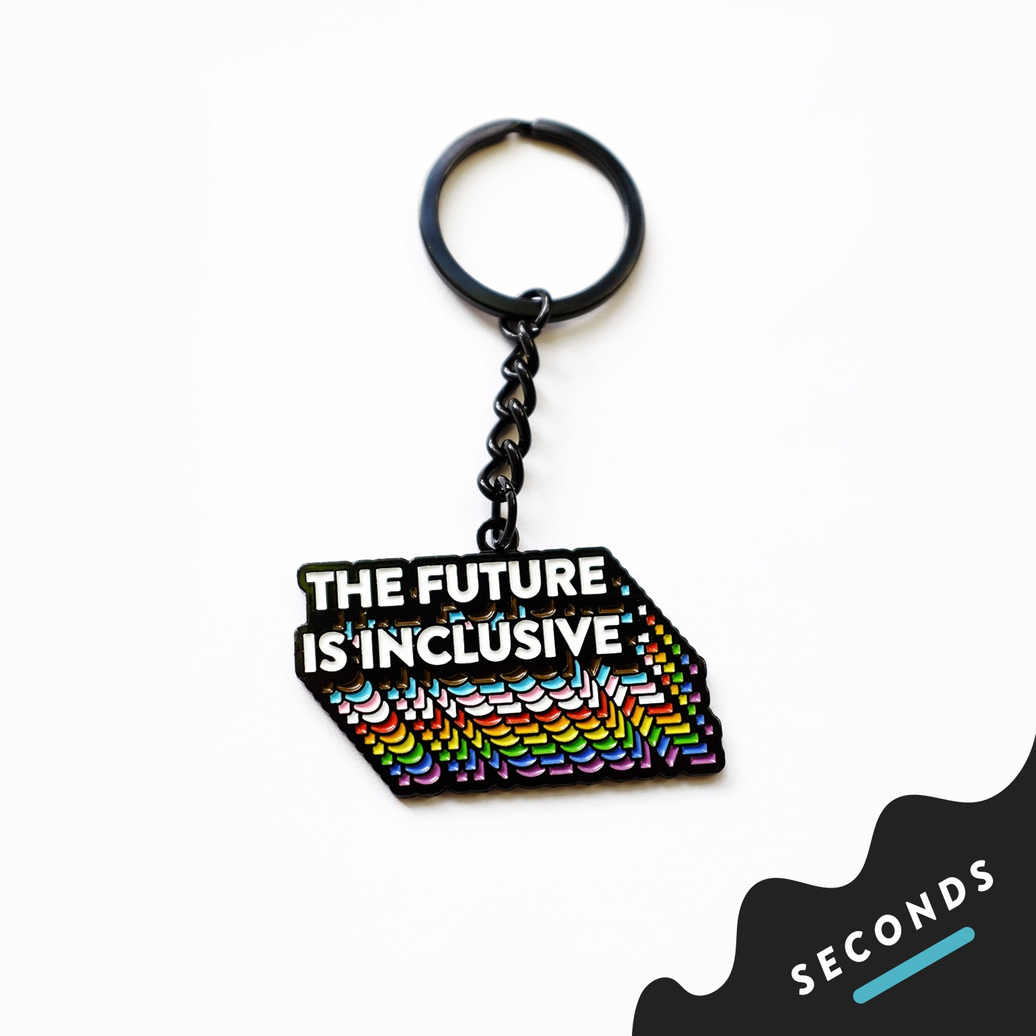 Seconds Sale - The Future Is Inclusive Keychain