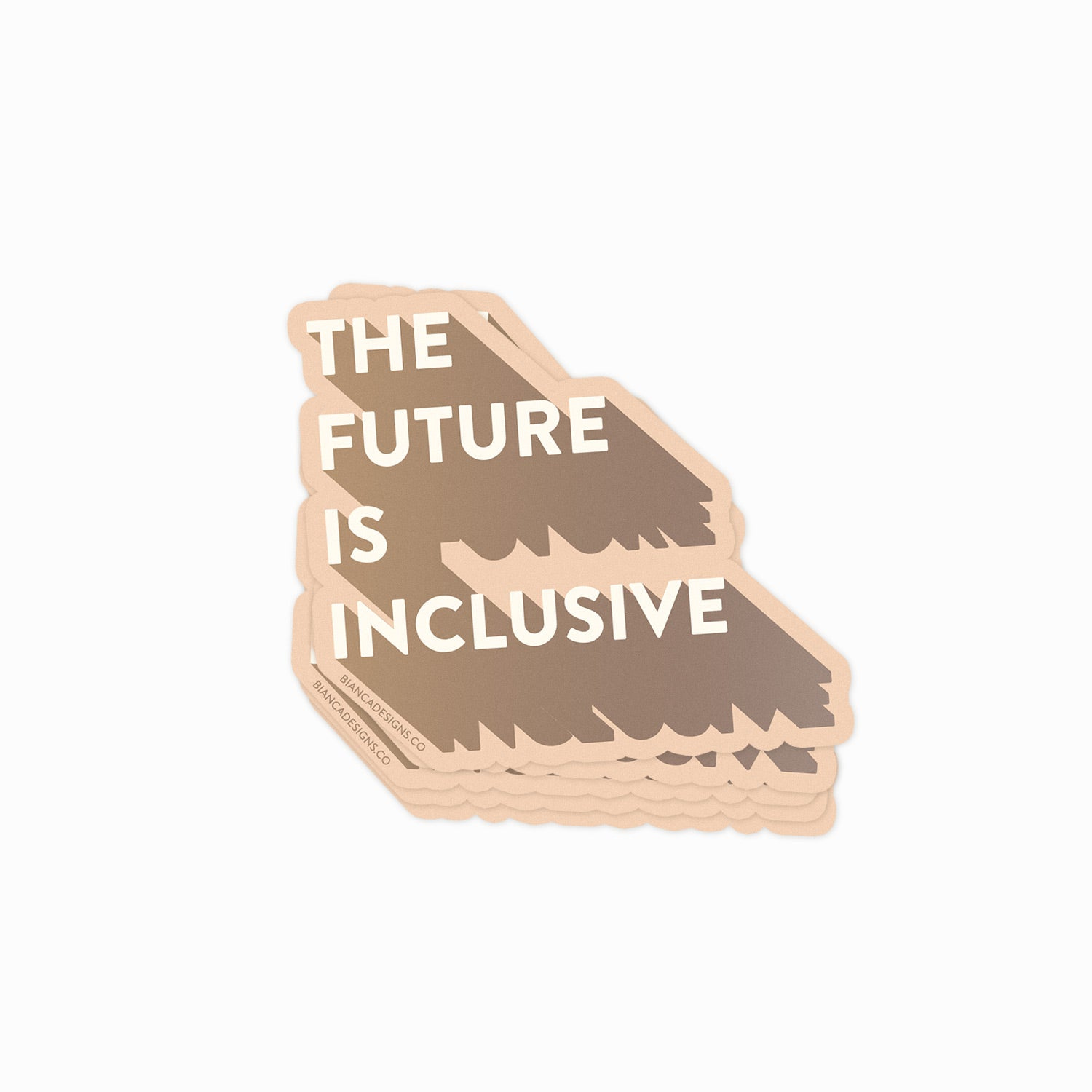 The Future Is Inclusive Sticker