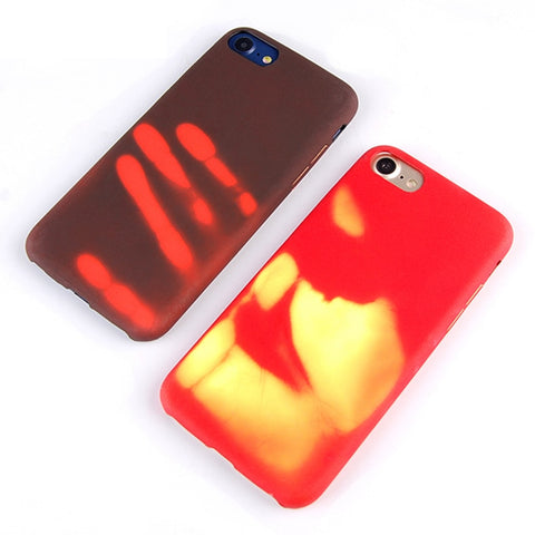 Heat Sensitive Case for iphone 8 7 6 6s plus 5 5s - giftsgadgetsandgizmos.com