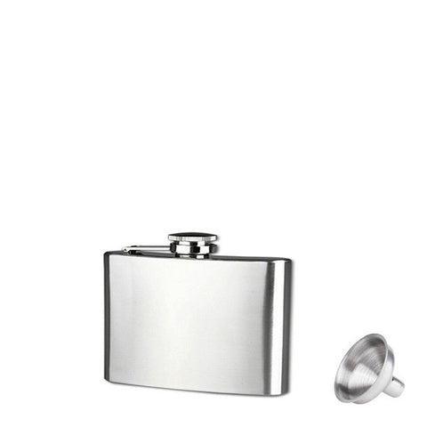 Stainless Steel Hip Flask Different Sizes Available. - giftsgadgetsandgizmos.com