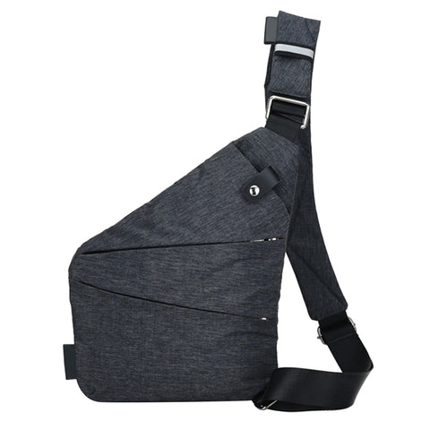 Image of Casual Canvas Chest Bag - giftsgadgetsandgizmos.com