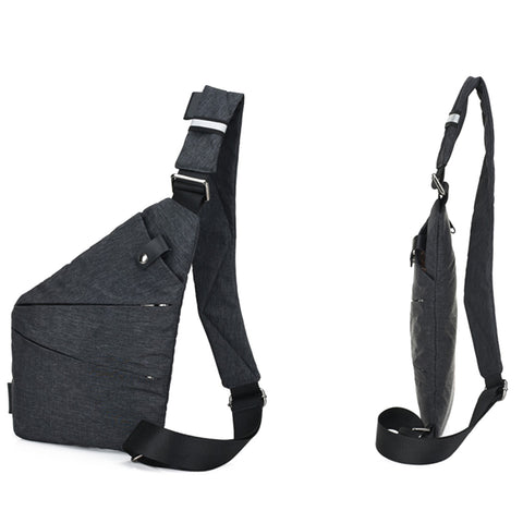 Casual Canvas Chest Bag - giftsgadgetsandgizmos.com
