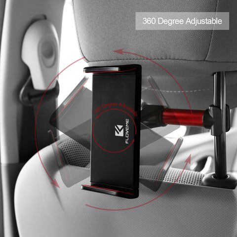 Car Seat Headrest Phone & Tablet Mount - giftsgadgetsandgizmos.com