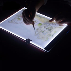 Ultra Thin A4 LED Light Tablet Pad - giftsgadgetsandgizmos.com