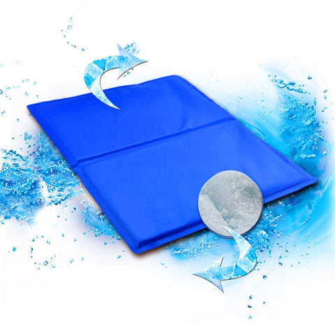 Image of Pet Cooling Gel Mat - giftsgadgetsandgizmos.com
