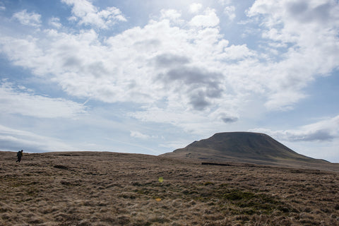 Walking towards Fan Brycheiniog, Brecon