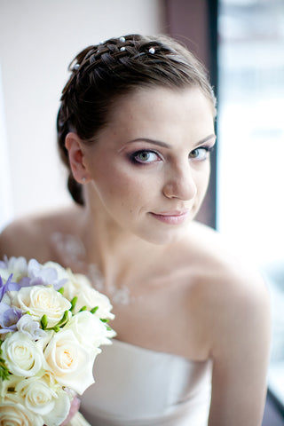 Wedding bride picture portrait