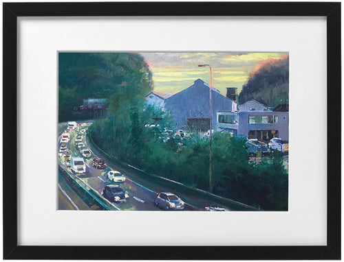 Signed Print - Framed - The A470