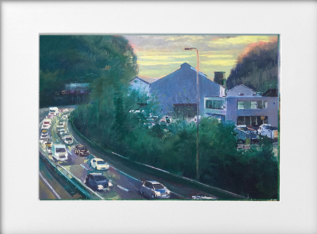 Mounted Print - (Unframed) - The A470