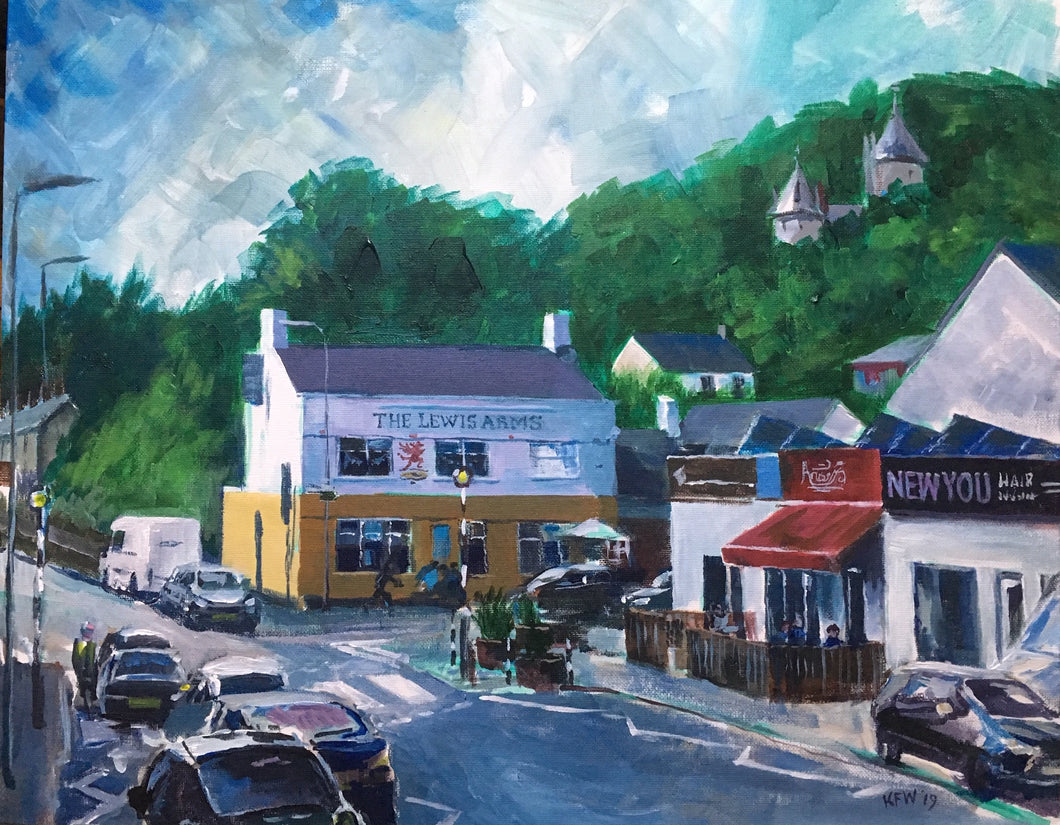 Tongwynlais - 'Heart of the Village Under the Gaze of Castell Coch'