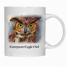 Load image into Gallery viewer, Gift - Mug - Eurasian Eagle Owl