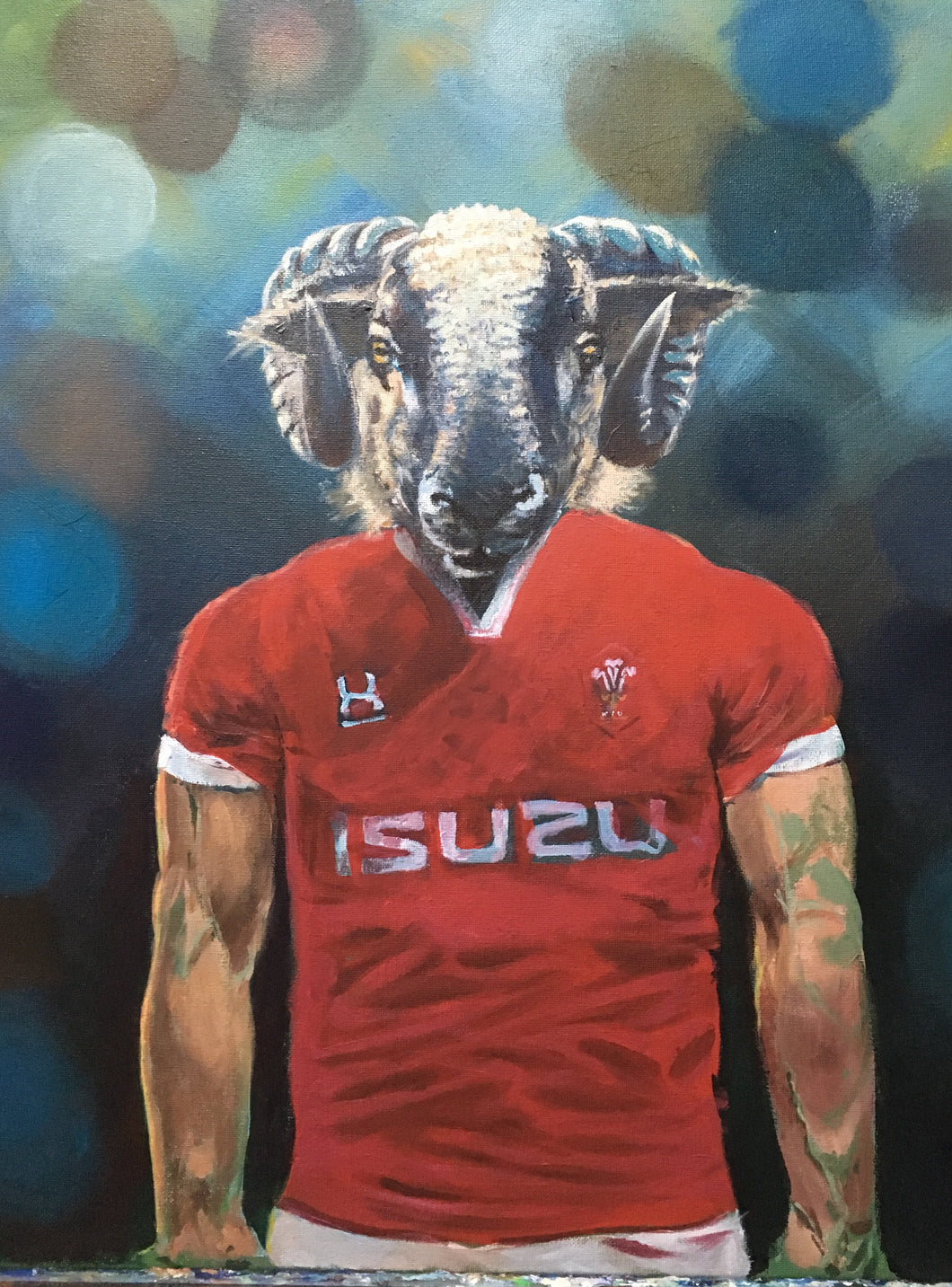 Rugby Art Wales - Wales reveal new kit
