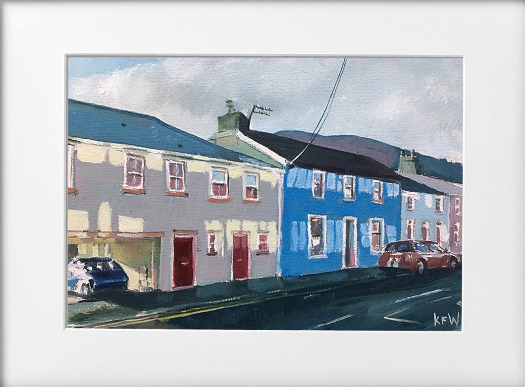 Mounted Print - (Unframed) - Not Arthurs shop