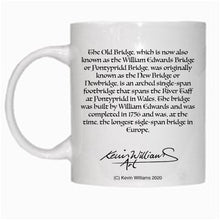 Load image into Gallery viewer, Gift - Mug - Pontypridd Bridge