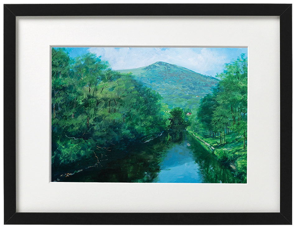 Signed Print - Framed - The Garth and the Taff