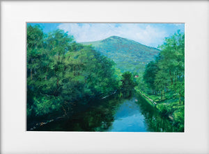 Mounted Print - (Unframed) - The Taff and the Garth