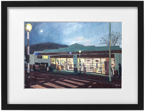 Signed Print - Framed - The Coop, Taffs Well