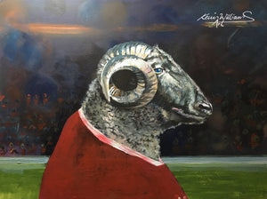 Rugby Art Wales - The anthem