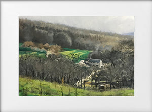 Mounted Print - (Unframed) - Ty Rhiw Farm