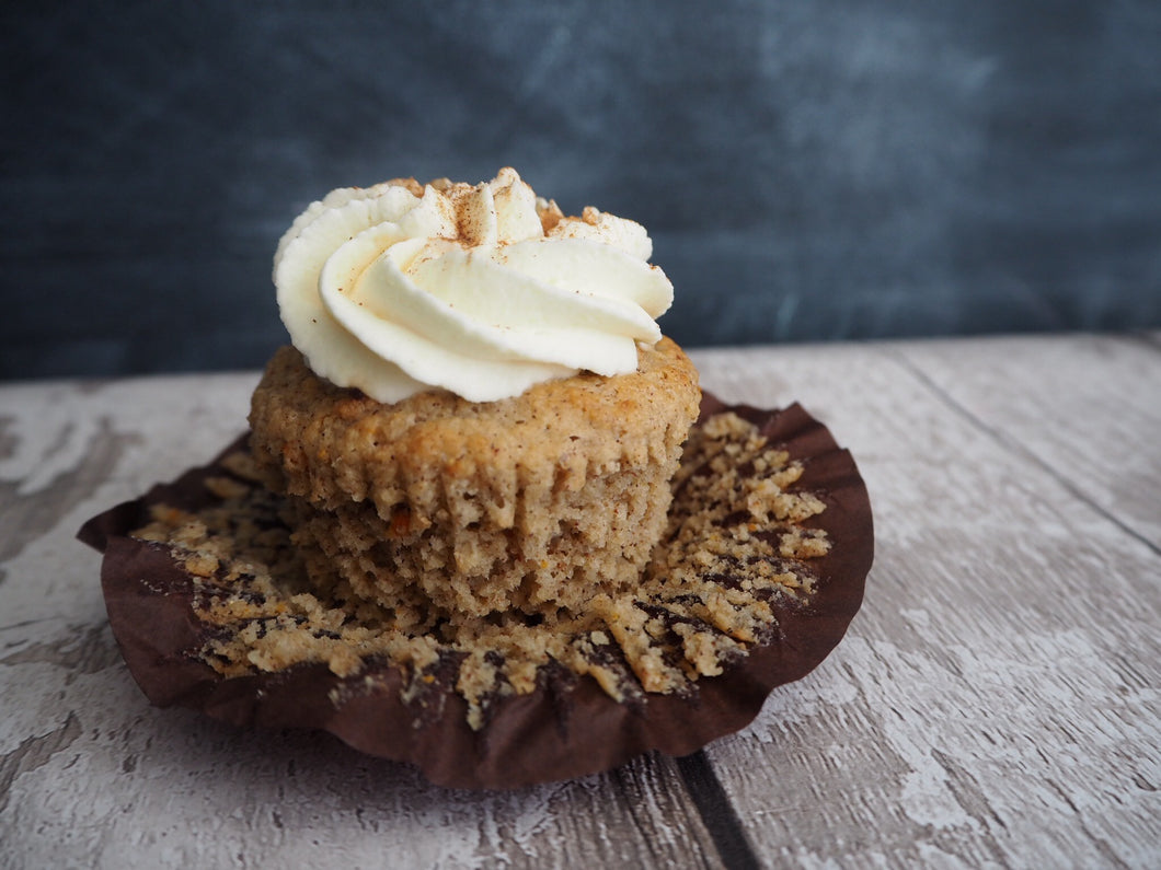 Pack of 4 Keto Carrot Cupcakes