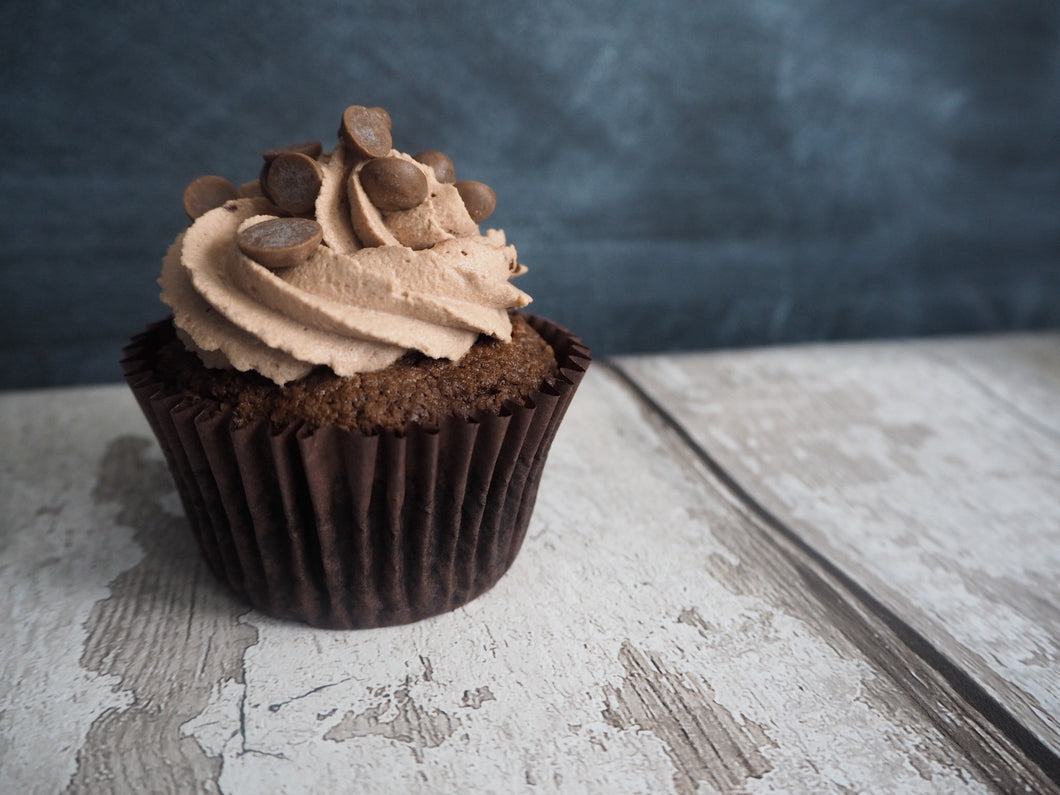 Pack of 4 Keto Double Chocolate Cupcakes