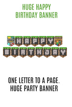 Load image into Gallery viewer, MASSIVE Minecraft Party Pack
