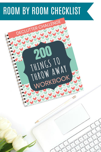 Declutter Challenge: 200 Things to Throw away