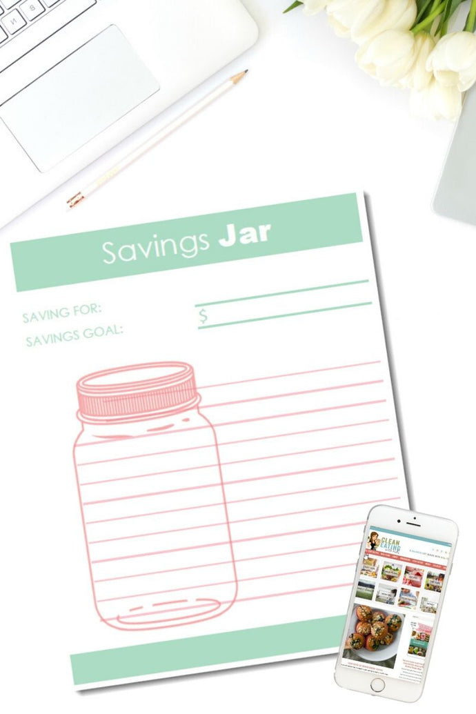 Savings Jar Budgeting Printable